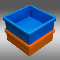 12 Inch Square x 5 Inch Deep - Part #102